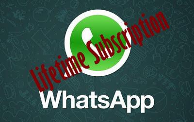 Whatsapp مجاني لمدى الحياة هاك