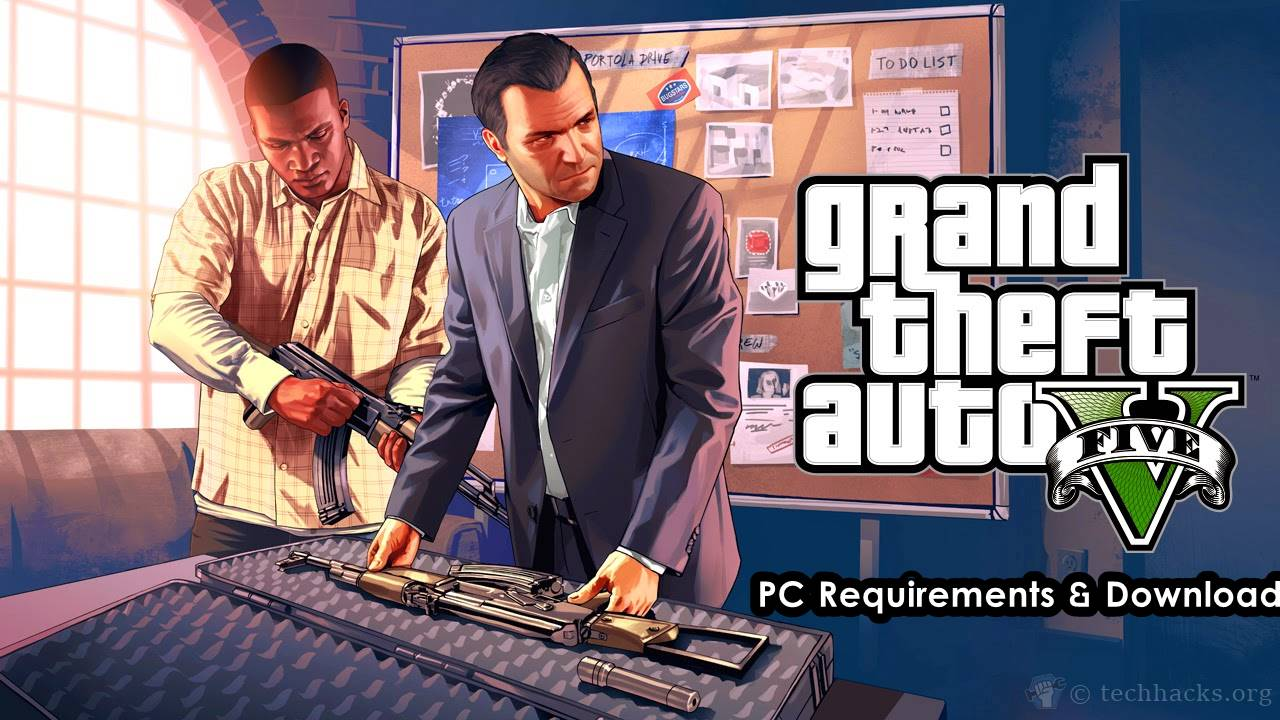 GTA 5 for PC Requirements & Download