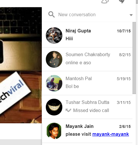 Run Google + Hangouts