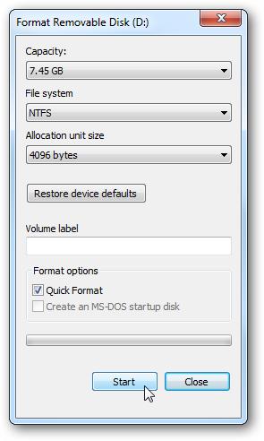 windows 7 usb dvd tool how to use