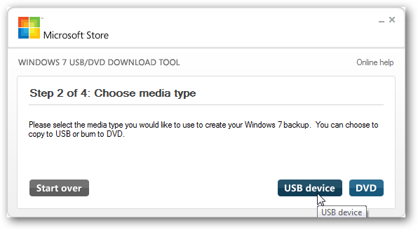 Windows USB/DVD Tool