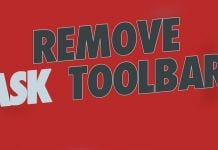 How To Remove The Ask Toolbar From Your Browser