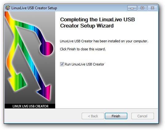 Easily Make Linux Live USB