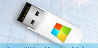 How To Create A Bootable USB/Pendrive Of Windows