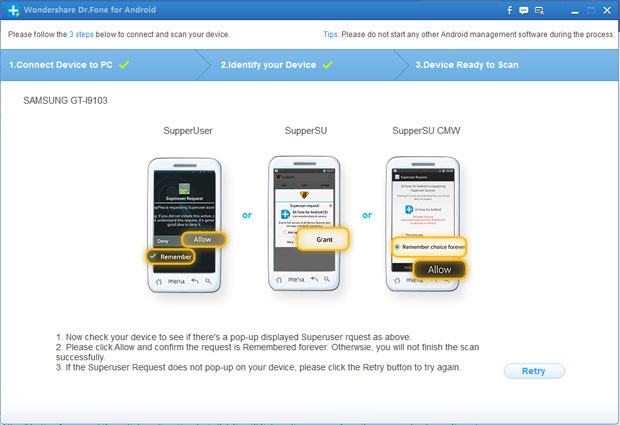 drfone-android-scan
