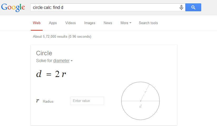 solve math by google
