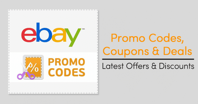 eBay Promo Codes, Coupons & Discounts 2019