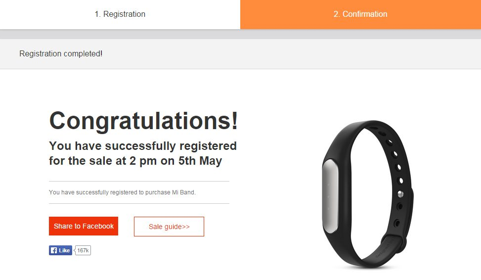 Mi Band for just Rs 1