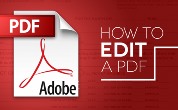 How To Edit PDF Files For Free