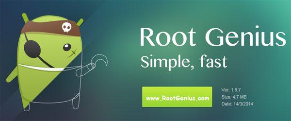 Using Root Genius