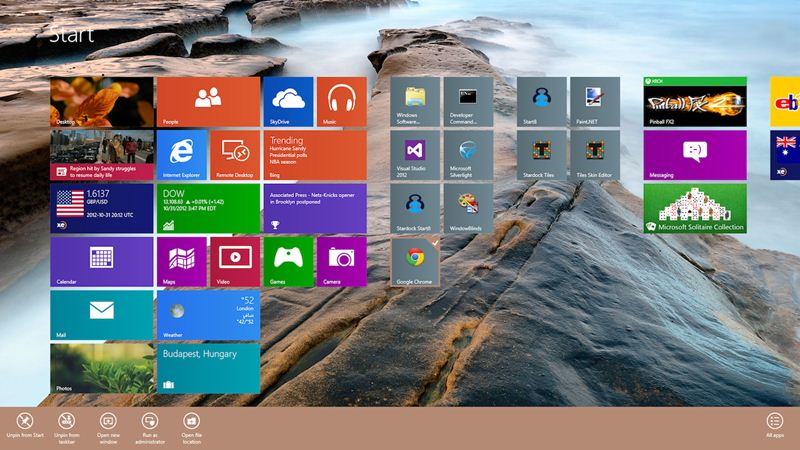 6 Ways To Customize Your Windows 8 Start Screen