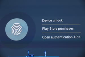 Fingerprint scanner support