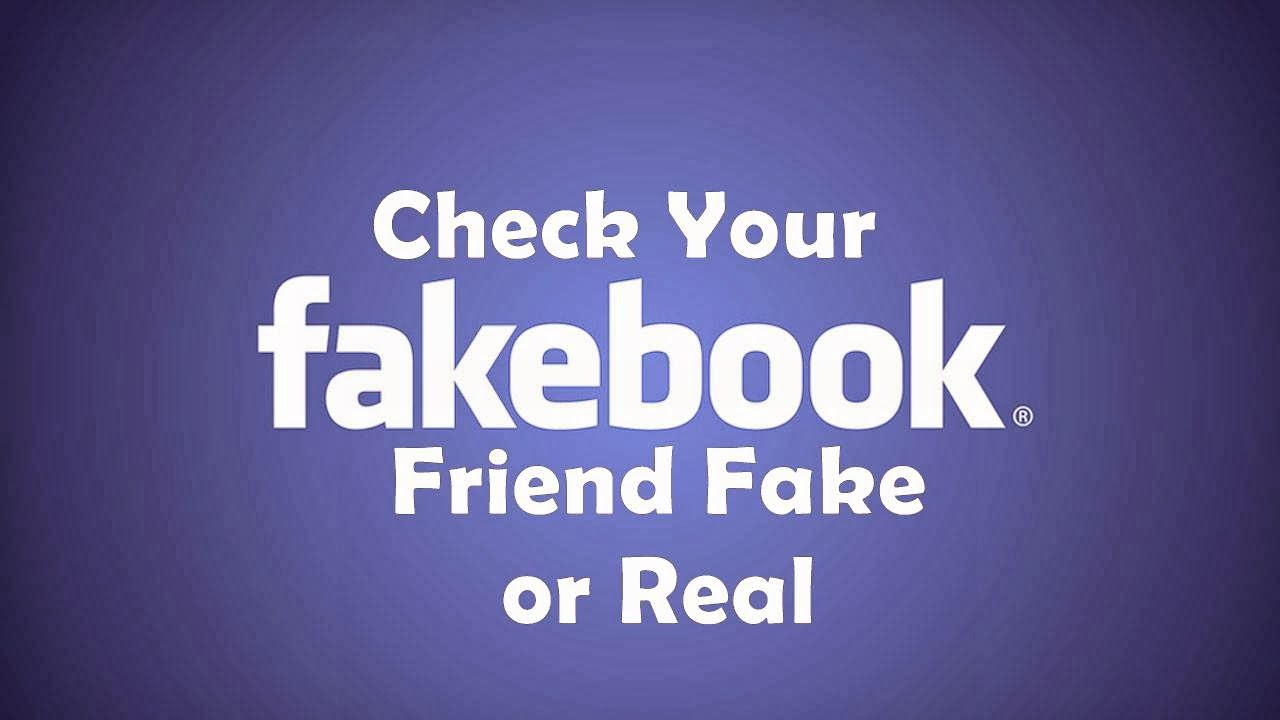 How to Identify A Fake Facebook Account