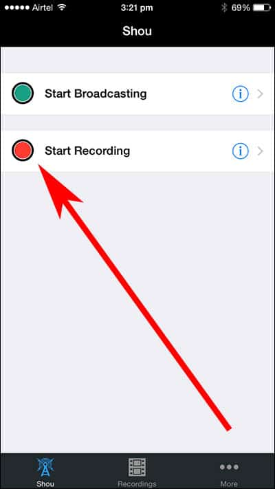 Record iPhone and iPad screen