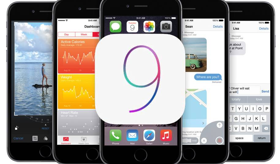 Upcomming Apple iOS 9 Features