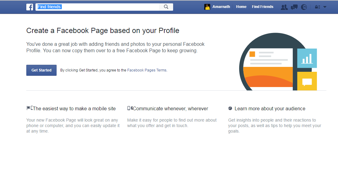 How To Convert Facebook Profile Into A Page 2016