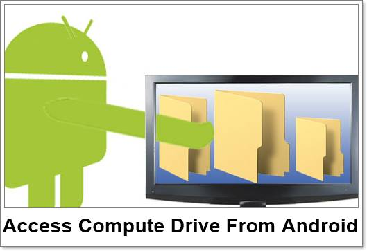 How To Access Computer Hard Drive From Android
