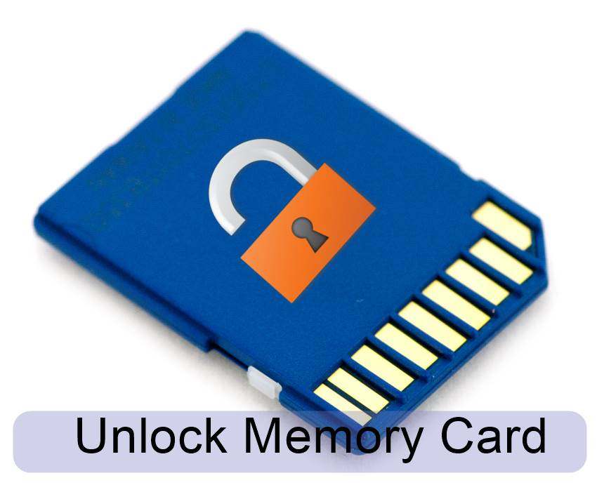 How To Remove Password Of Memory Card