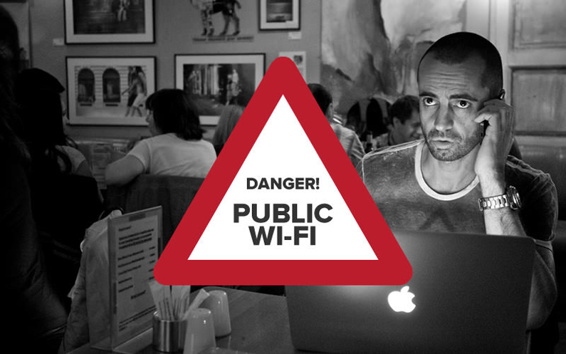 Avoid Using Public Networks