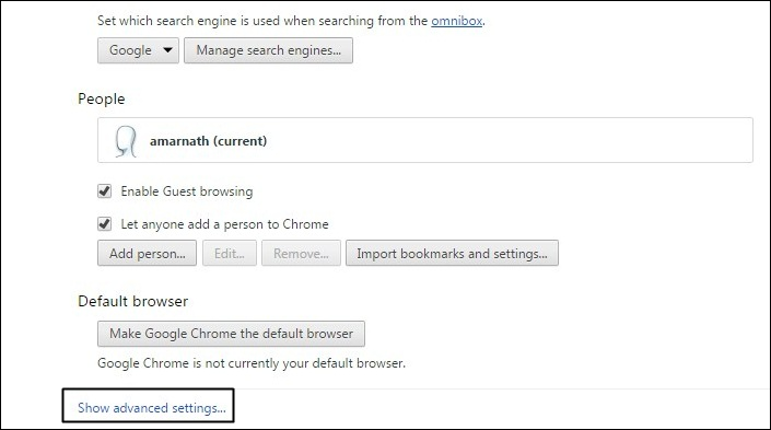 Disallow Websites To Track Your Location In Google Chrome