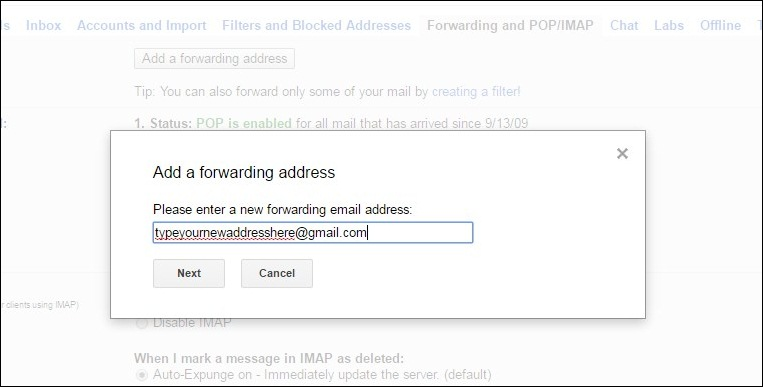 How To Forward All Incoming Emails From One Gmail To Another