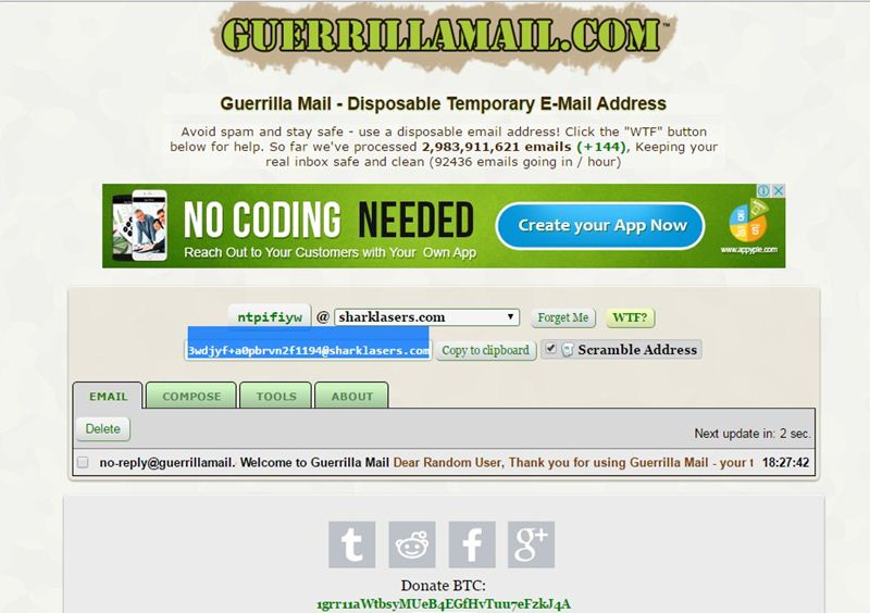 How To Create Fake Email Address Within Seconds Laptrinhx