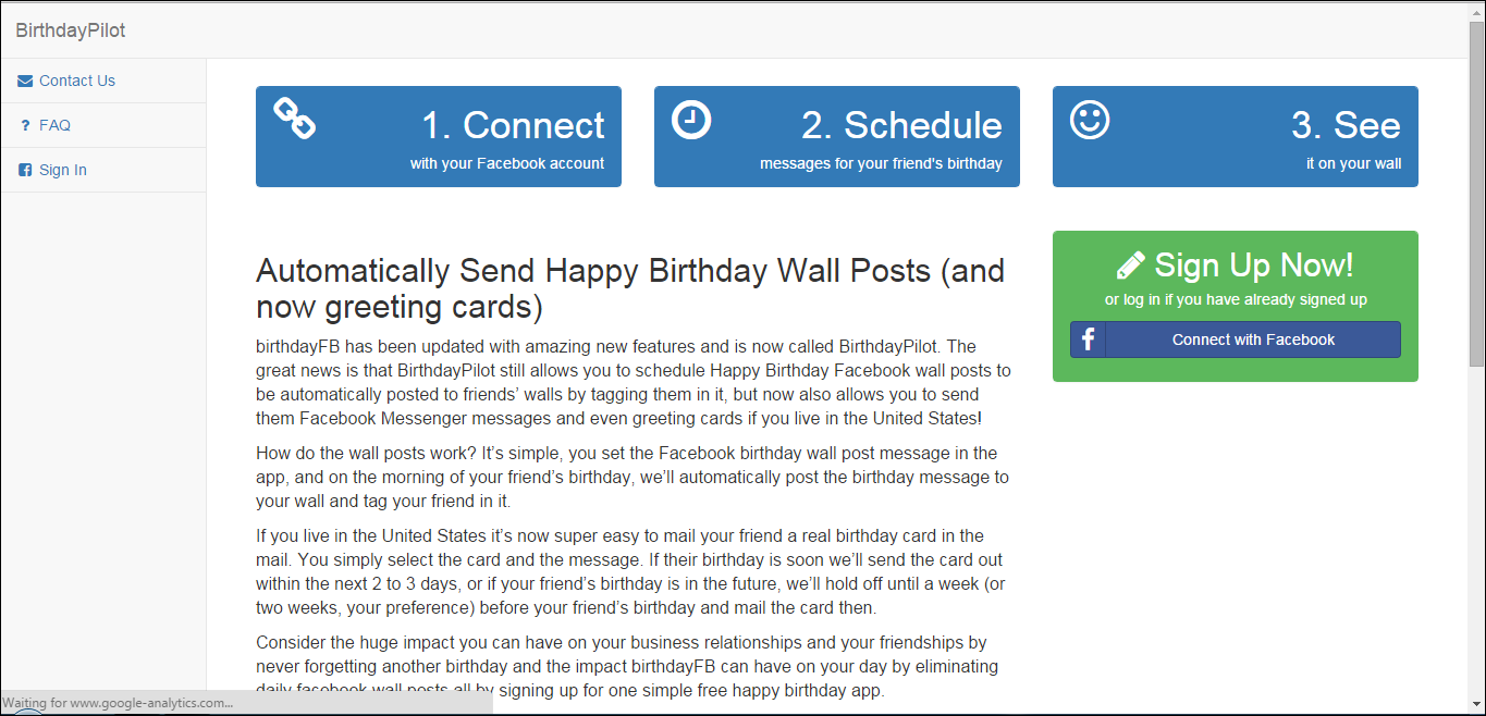 How To Automatically Post Birthday Wishes On Your Friends Facebook Wall