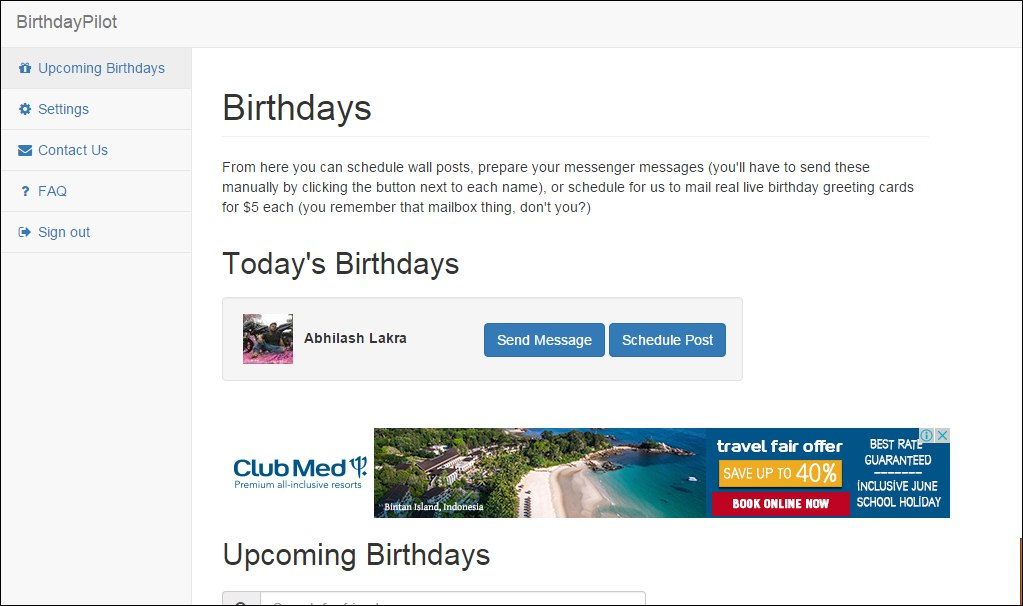 How to auto post birthday wishes on your friends facebook wall how to automatically post birthday wishes on your friends facebook wall m4hsunfo