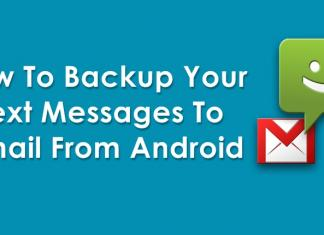 How To Backup Your Text Messages To Gmail From Android