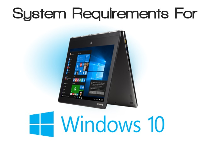 Minimum system requirements for windows 10