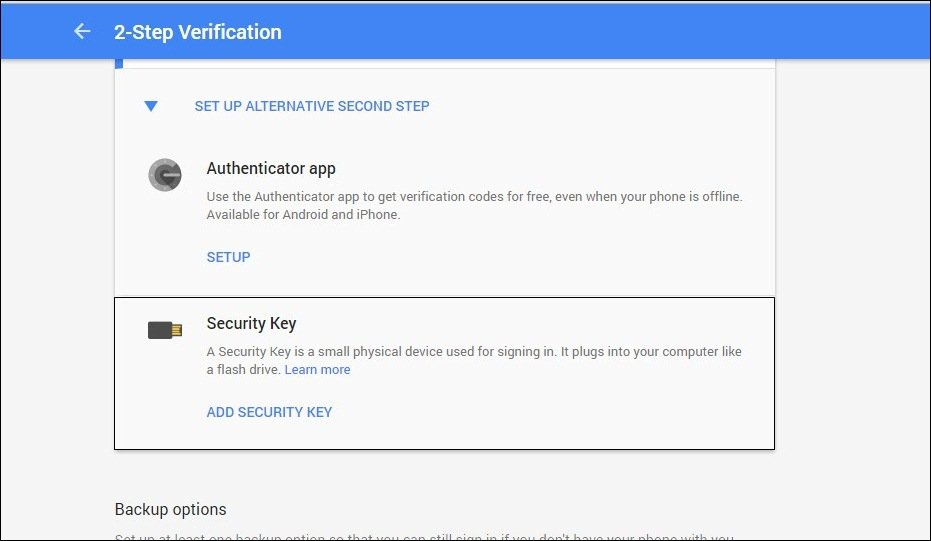 How To Protect Google Accounts with USB Security Key