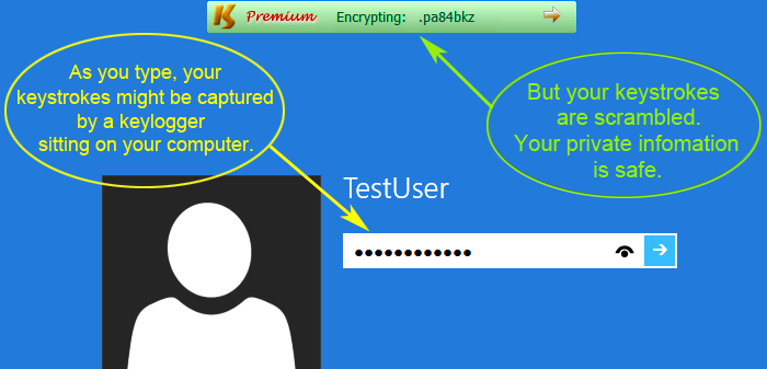 Use Keyscrambler App