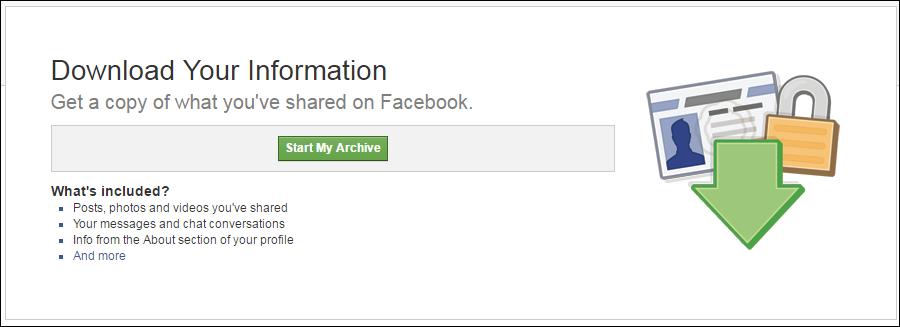 Come recuperare i messaggi di Facebook cancellati
