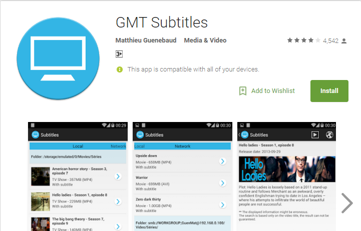 Using GMT Subtitles