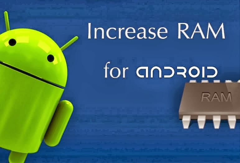 how to increas ram on android