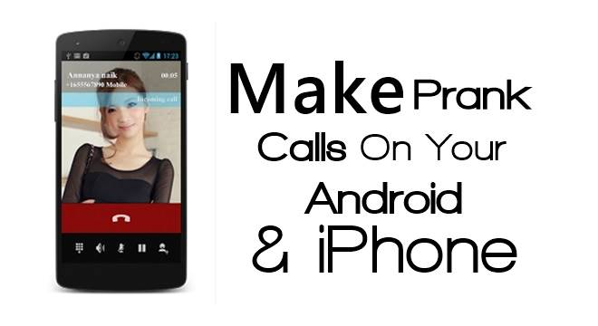 How to Make a Fake Incoming Calls on Android and iPhone