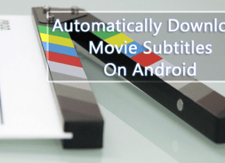 How To Automatically Download Movie Subtitles On Android