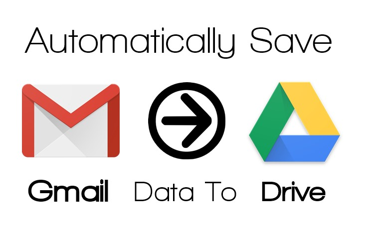 Save your Gmail Data to Google Drive Automatically