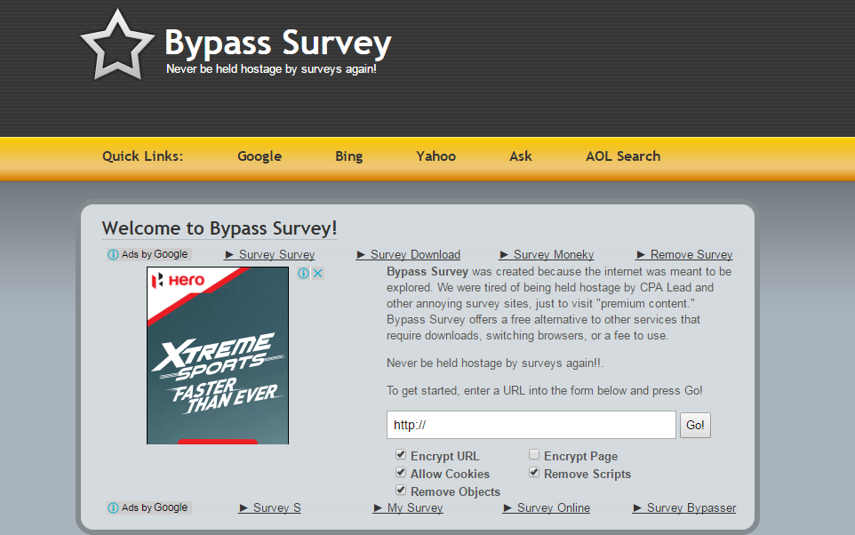 3 Best Methods To Unlock Or Bypass Online Surveys