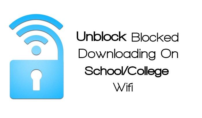 Unblock Blocked Downloading