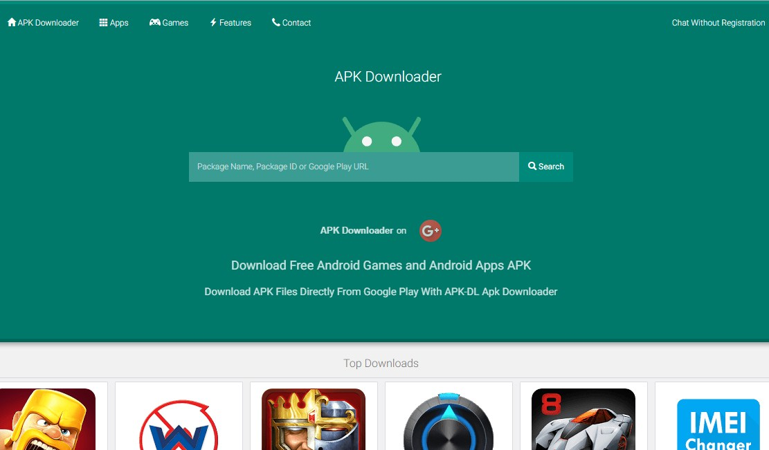 how to directly apk from play store on pc android