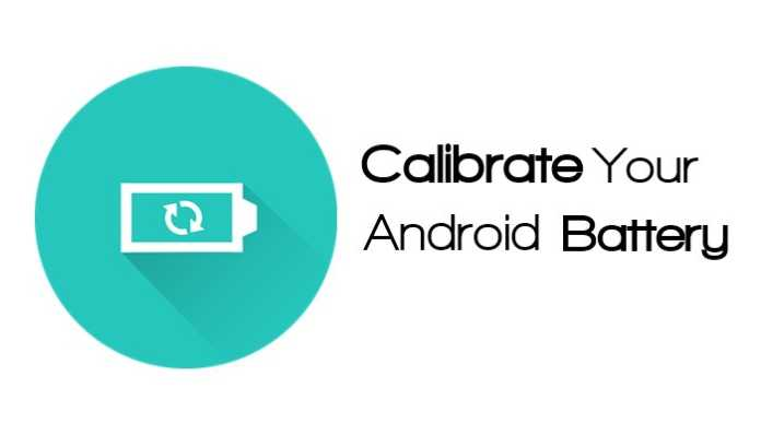 Calibrate battery