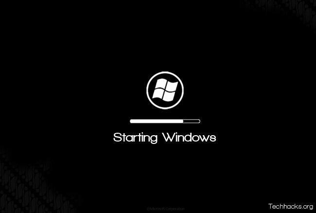 Customize Windows Boot Screen