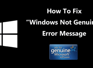 "How To Fix ""Windows Not Genuine"" Error Message (3 Methods)"
