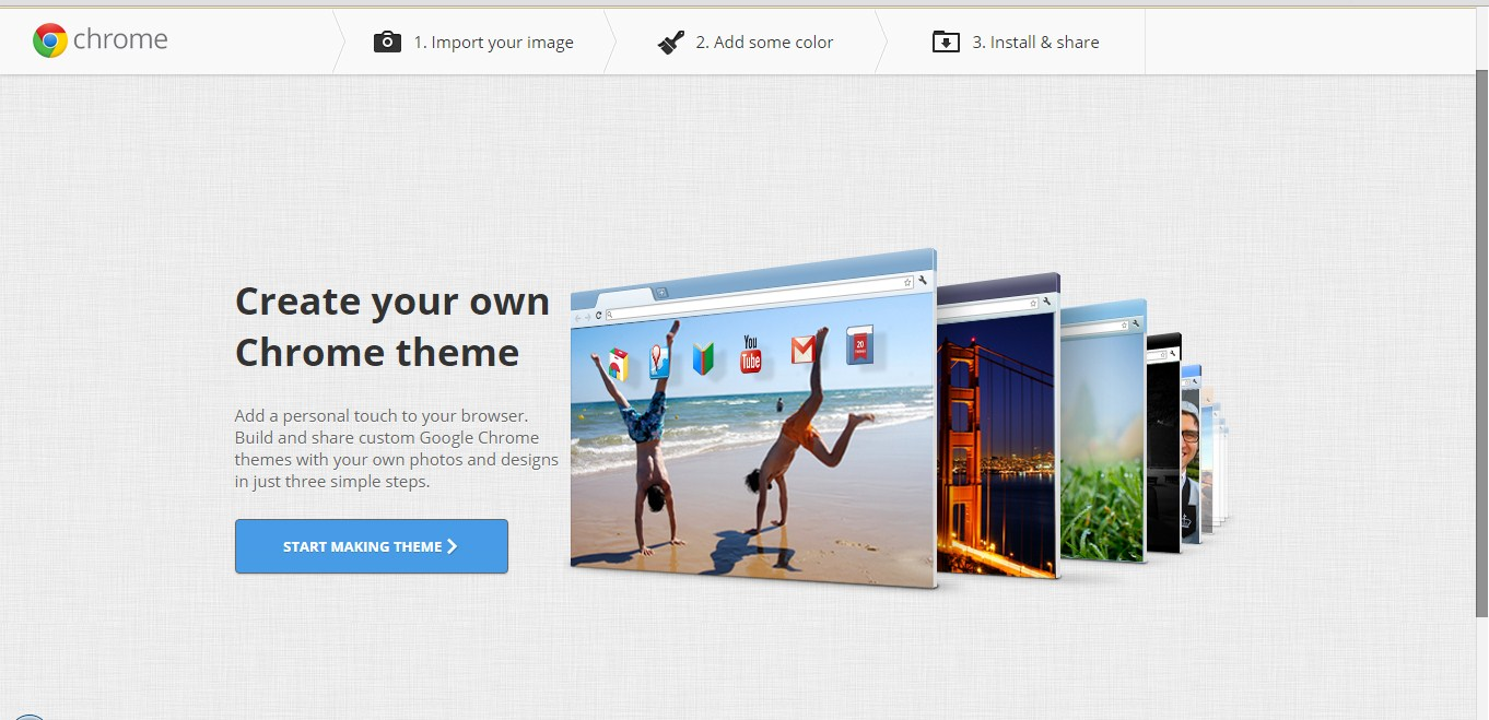 How to Make your Own Google Chrome Theme