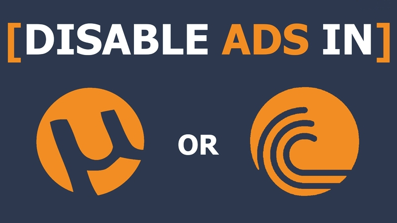 How To Disable Ads in uTorrent And BitTorrent