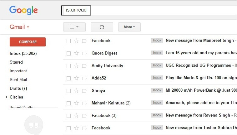 How To Select All Unread Mails As Read In Gmail