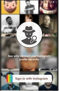 See private instagram android app