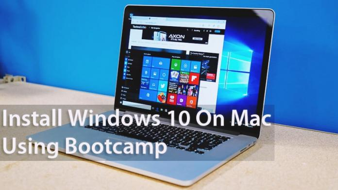 How To Install Windows 10 On Mac Using Bootcamp