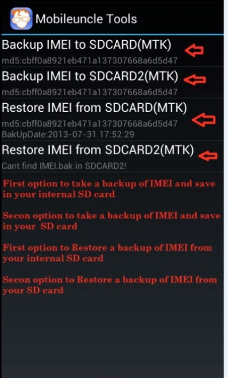 How To Backup & Restore IMEI in Android